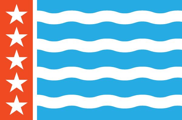 Rivive! Nashville flag logo