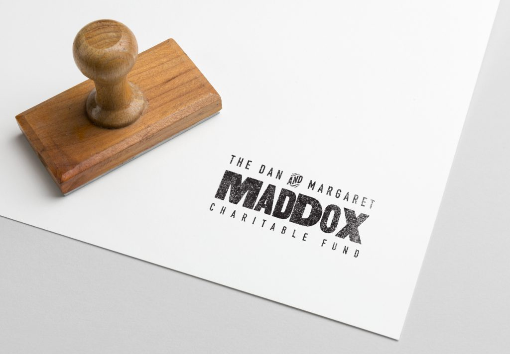 Maddox Charitable Fund logo design Loyal Brand Company