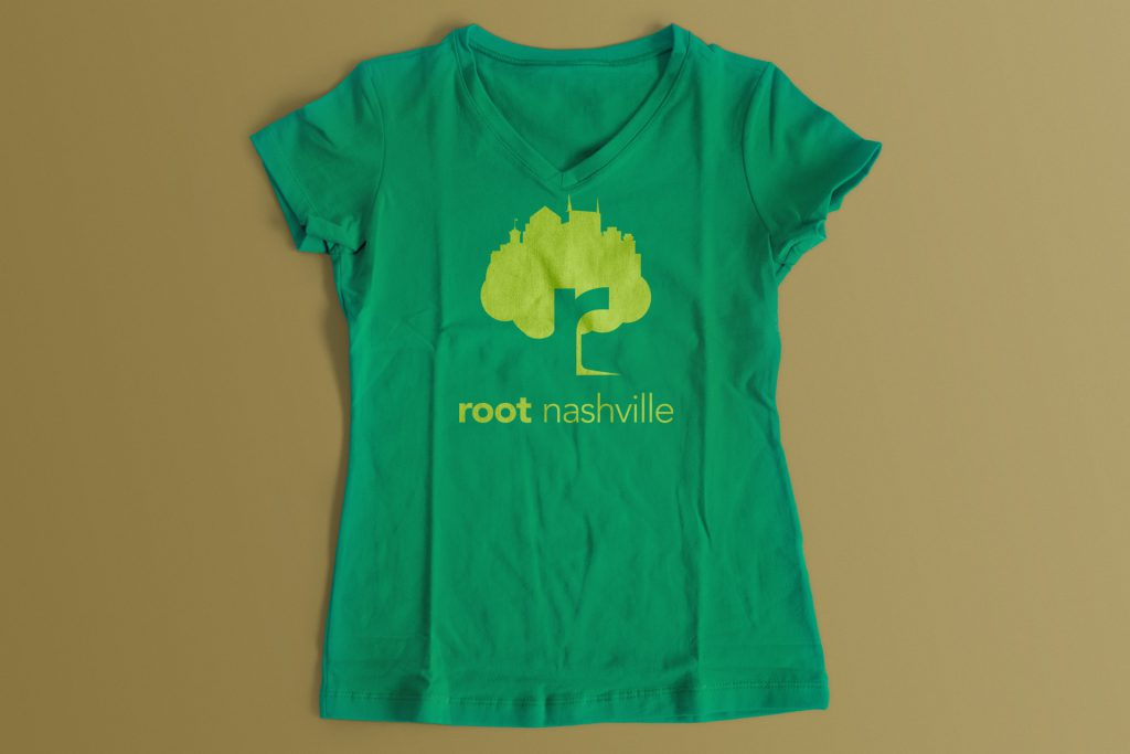 Root Nashville tee design