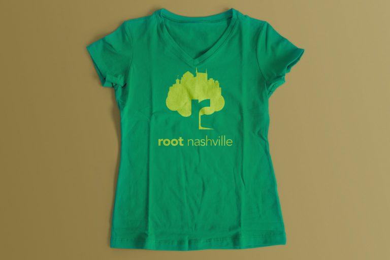 Root Nashville tee design